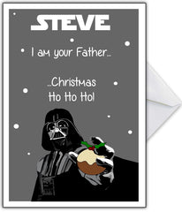 "Star Wars Xmas Card ""I am your Father..."" - That Card Shop"