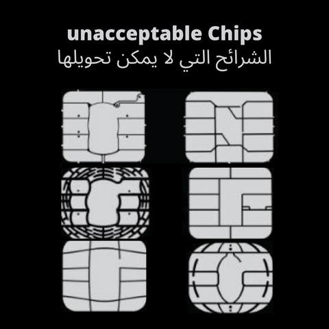 unaccepted chips