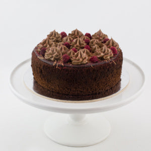 Raspberry & Chocolate cake