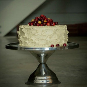Rustic Cake with Seasonal Fruit