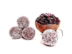Cranberry & Coconut Protein Balls