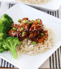 Chicken Teriyaki Brown Rice & Vegetables