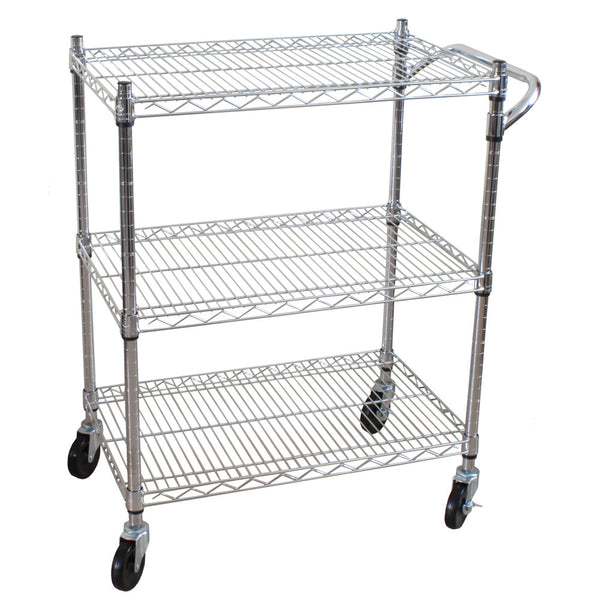 Oceanstar 3 Tier Heavy Duty All-Purpose Utility Cart Auc1460 (Cart