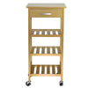 Oceanstar Rolling Storage Kitchen Cart (BKC13-874C)
