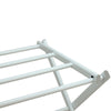 Oceanstar 3-Tier Foldable Drying Rack, White