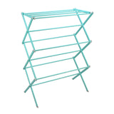Oceanstar 3-Tier Foldable Drying Rack, Turquoise