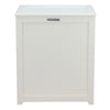 Oceanstar Storage Laundry Hamper, White