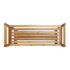 Oceanstar 2 Tier Bamboo Shoe Rack