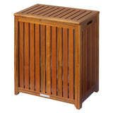 Oceanstar Solid HPL Wood Spa Hamper TRH1330