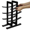 Oceanstar 12-Bottle Dark Espresso Bamboo Wine Rack WR1132