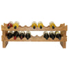 Oceanstar 18-Bottle Stackable Bamboo Wine Rack WR1361