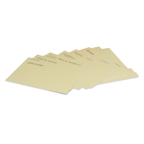 RB1408 - Card Dividers