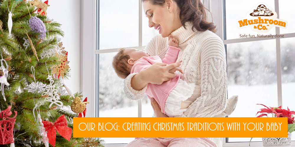 Creating Christmas Traditions with your New Baby | Organic Baby Toys | Natural Baby Toys