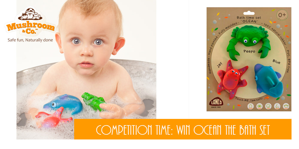 Competition to Win Ocean The bath time set