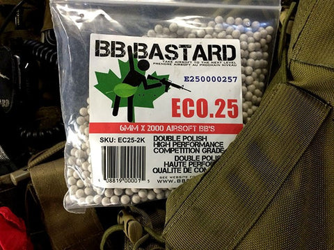 BB Bastard 6mm Double Polished Ammunition