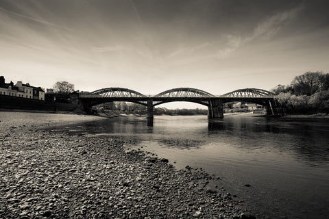 Barnes Bridge B&W
