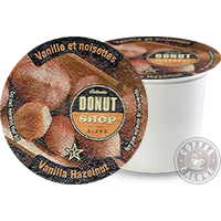 Authentic Donut Shop Vanilla Hazelnut K cup