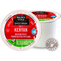 Brown Gold Kenya Kcup