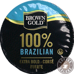Brown Gold Brazillian Kcup