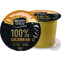 Brown Columbian Kcup