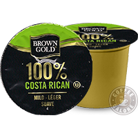 Brown Gold Costa Rica Kcup