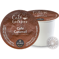 Cafe Escapes Cafe Caramel Kcup