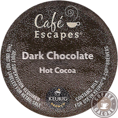 Cafe Escapes Dark Hot Chocolate Kcup