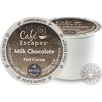 Cafe Escapes Milk Chocolate Hot Chocolate Kcup