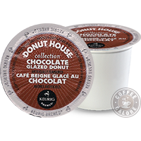 Donut House Chocolate Glazed Donut Kcup