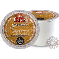 Folgers Caramel Drizzle K cup