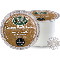Green Mountain Caramel Vanilla Cream Kcup