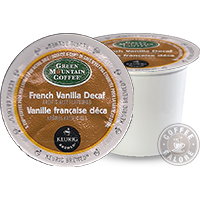 Green Mountain French Vanilla Decaf Kcup