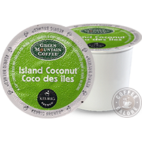 Green Mountain Island Coconut Kcup