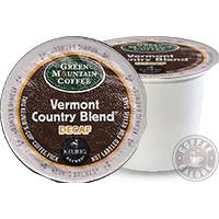 Green Mountain Vermont Country Decaf Kcup
