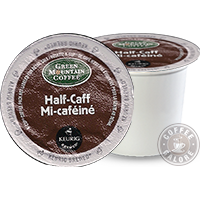 Green Mountain Half Caff Kcup