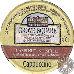 Grove Square Hazelnut Cappuccino Kcup