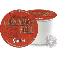 Guy Fieri Hazelnut Cinnamon Roll Kcup