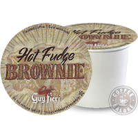 Guy Fieri Hot Fudge Brownie Kcup