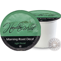 Hamilton Mills Morning Roast Decaf Kcup
