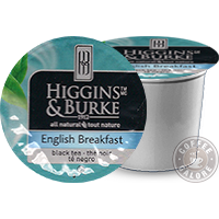 Higgins and Burke English Breakfast Tea K cup
