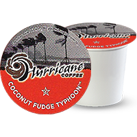 Hurricane Coconut Fudge Typhoon K cup