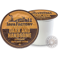 Java Factory Dark and Handsome K cup