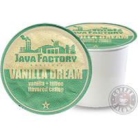 Java Factory Vanilla Dream K cup