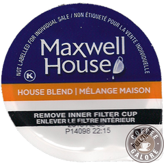 Maxwell House House Blend Kcup