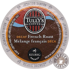 Tully French Roast Decaf Kcup