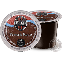 Tully's French Roast Kcup