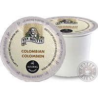 Van Houtte Columbian Medium Kcup
