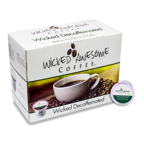 Wicked Awesome Coffee - Wicked Decaffeinated
