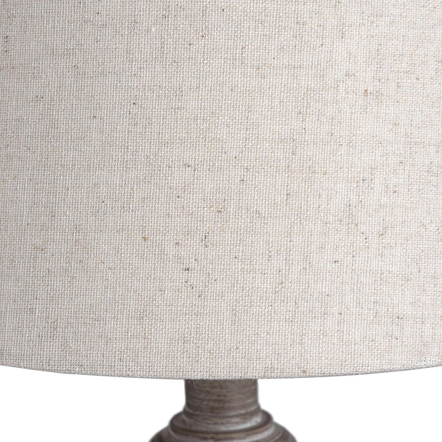 Country Wood Table Lamp
