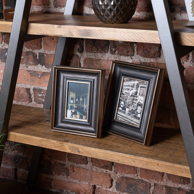 Antique Gold With Black Detail Photo Frame 8 X 10